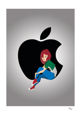 Apple fangirl