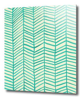 Herringbone (Mint)