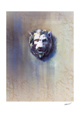 Lionhead White Marble