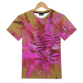 Fern, pink & gold version