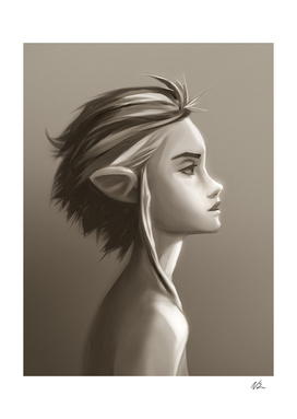 Dreamy Profile-Elf