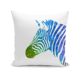 Zebra | Rainbow Series | Pop Art