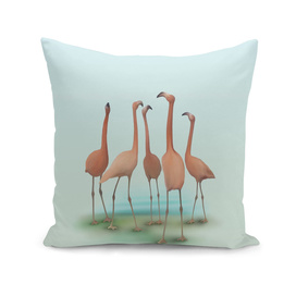Flamingo Mingle