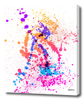Fusion - Abstract Splatter Art