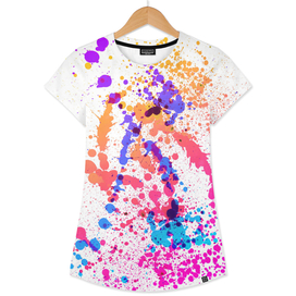 Fusion - Abstract Splatter Art