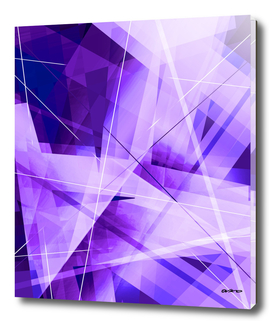 Fractured - Geometric Abstract Art