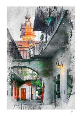 Cracow art 13 Kazimierz
