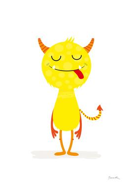 Little yellow monster