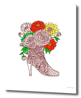 Flowers in Boot a