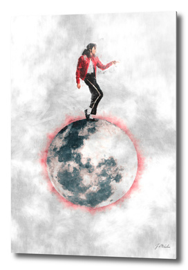 Michael Jackson Moonwalk sketch