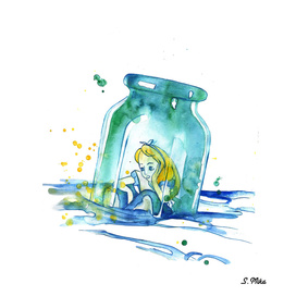Alice In The Bottle