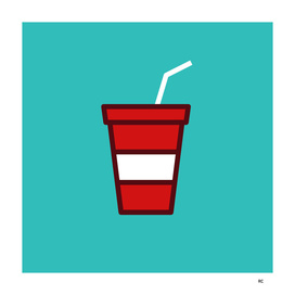 Soda - Icon Prints: Drinks Series