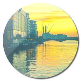 Sunset over Chelsea Bridge 02D