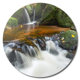 Yspertal Waterfall