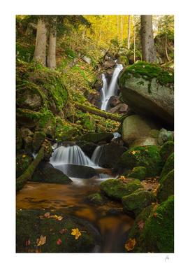 Yspertal Waterfalls