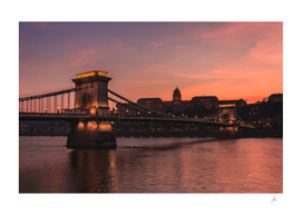 Chain Bridge Sunset