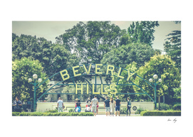Beverly Hills Sign - Vintage