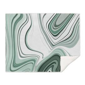 Bold Green Agate Stone Effect Design