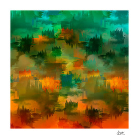 """""""Abstract forest in Autumn"""""""