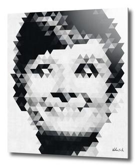 Audrey Hepburn Geometric