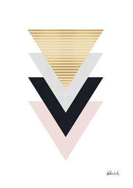 Geometric and golden art IV
