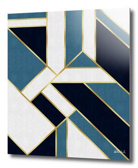 Geometric and golden art V