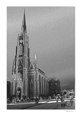 Novi Sad 001_3 digital by Banstolac - Crkva imena Marijinog
