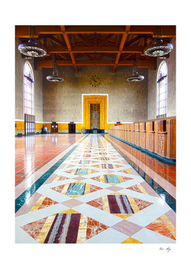 Old Ticketing Hall - Union Station LA (HDR)