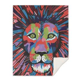 Flamboyant Lion