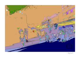 Novi Sad 002 digital by Banstolac - Zmaj Jovina street