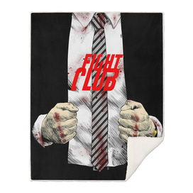 Fight club jacket and punches