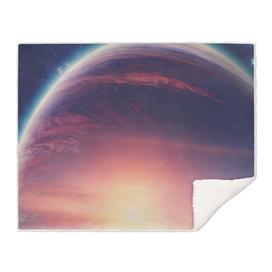 Jupiterian sunset