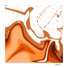 Warm Colors Abstract Design