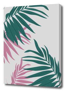 Minimalist leaf illustration