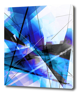 Inflection - Geometric Abstract Art