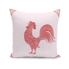 bird art rooster