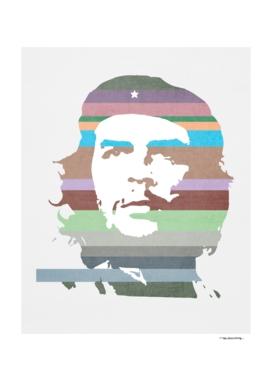 Che Guevara technicolor illustration
