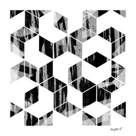 Elegant Black and White Geometric Design