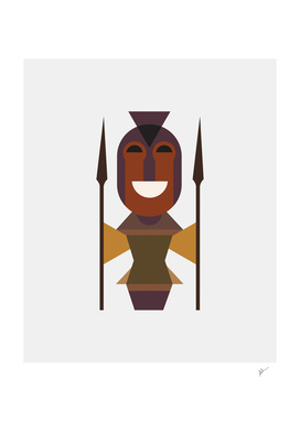 African Woman Warrior