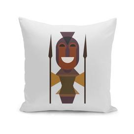 African Woman Warrior