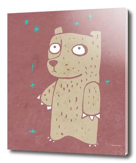 Cartoon bear illustration