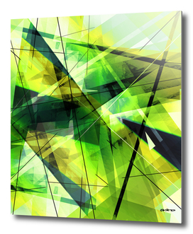 Vitalize - Geometric Abstract Art