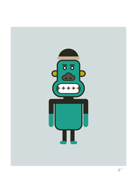 Monkey Robot Art
