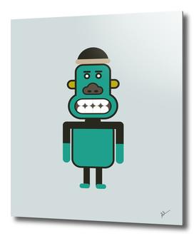 Monkey Robot Art