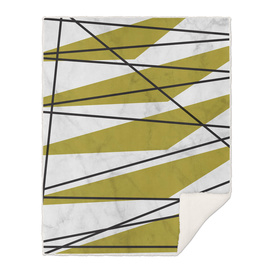 Marble Gold Shapes and Lines