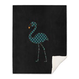 Botanical Flamingo