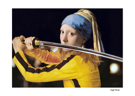 """Vermeer's """"Girl with a Pearl Earring"""" & Kill Bill"""