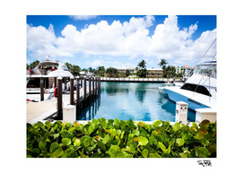 Boat Dock at the Bahamas