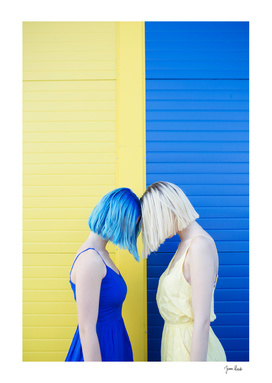 Yellow vs blue