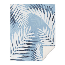 Tropical bliss - chambray blue